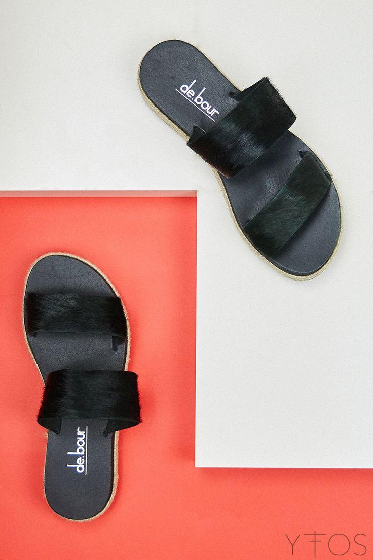 Yfos Online Shop   Shoes   Parallel Sandals by De.bour