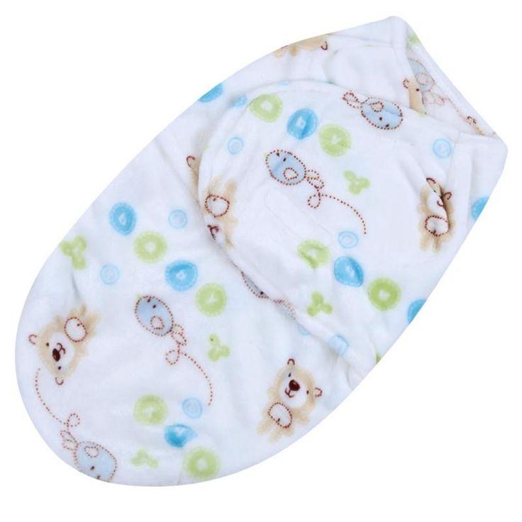 Baby Swaddle Fleece Wrap Blanket