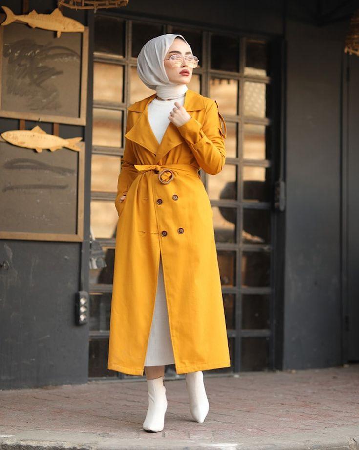 Elizamoda Tesettur Giyim Posted On Instagram Trenc Bugune Ozel 129 Tl Gunun Firsati Devam Ediyor Diledigin Urun Hediye In 2020 Trench Coat Fashion Coat