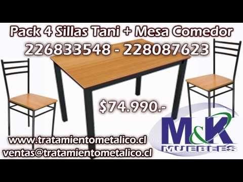 Pack sillas + Mesas gran oferta