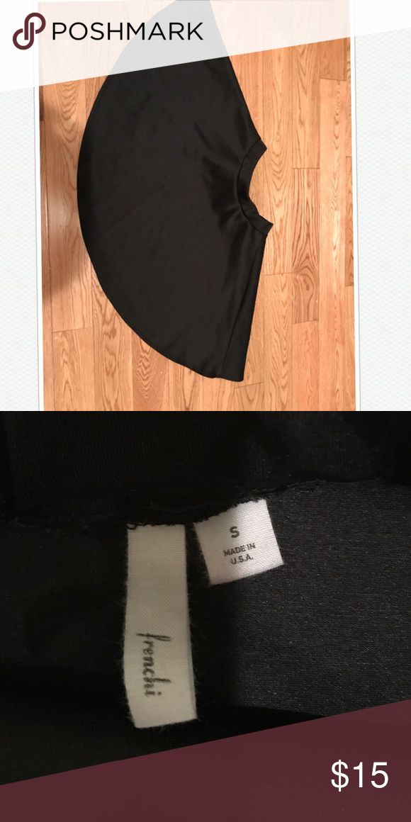 Black circle Skirt Black circle Skirt cute & scrunch Lush Skirts Circle & Skater