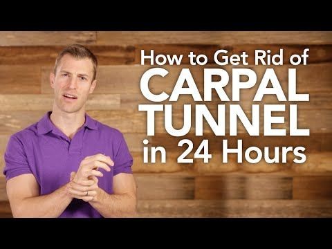 Carpal Tunnel Relief: How to find it Naturally in 24 Hours - Dr. Axe