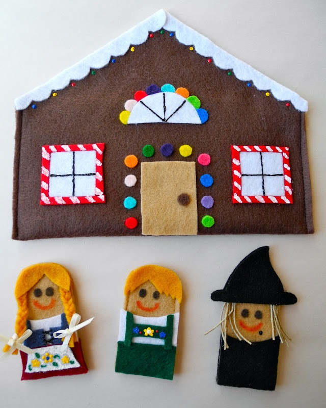 easy hansel and gretel craft - Google Search