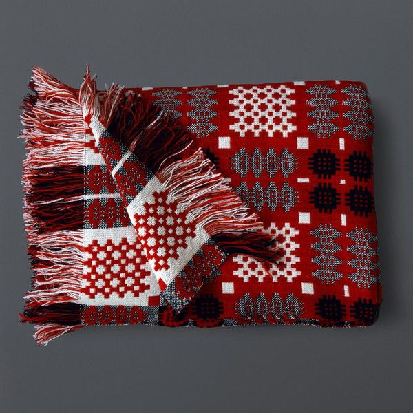 welsh blankets | LABOUR AND WAIT | Welsh Tapestry Blanket