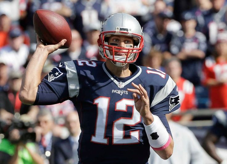Bengals vs. Patriots:     October 16, 2016  -  35-17, Patriots  -    New England Patriots quarterback Tom Brady passes against the Cincinnati Bengals during the first half of an NFL football game, Sunday, Oct. 16, 2016, in Foxborough, Mass.