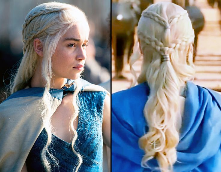 Game of Thrones Braid Tutorial: Copy Daenerys' Elaborate Hairstyle #prom hairstyles