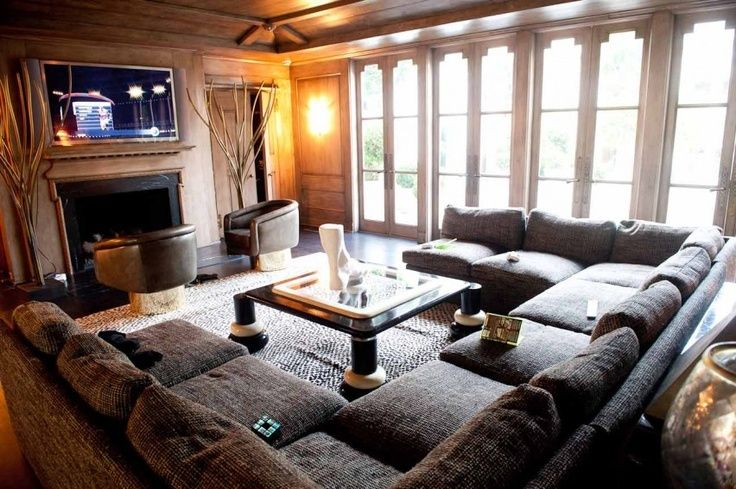 This oversized U-shaped sectional sofa will be a wonderful addition to your family room or living room. Description from pinterest.com. I searched for this on bing.com/images