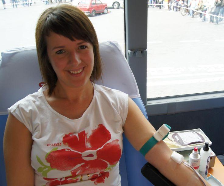 Anna Rudnicka dawca krwi, krwiodawca, krwiodawcy, krwiodawstwo, krew, hdk, blood donor, blood donation, blood