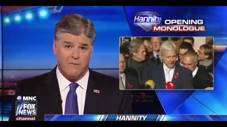 FOX NEWS - HANNITY  JULIAN ASSANGE SEAN HANNITY DONALD TRUMP [ 1/3/2017 ]