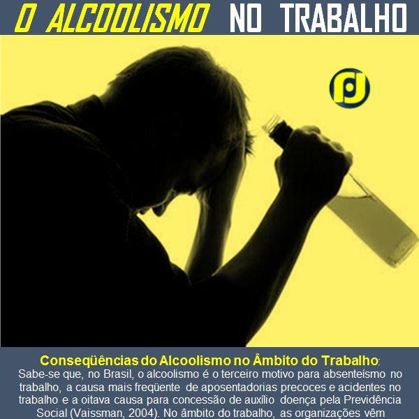 Consequências do Alcoolismo no Âmbito do Trabalho