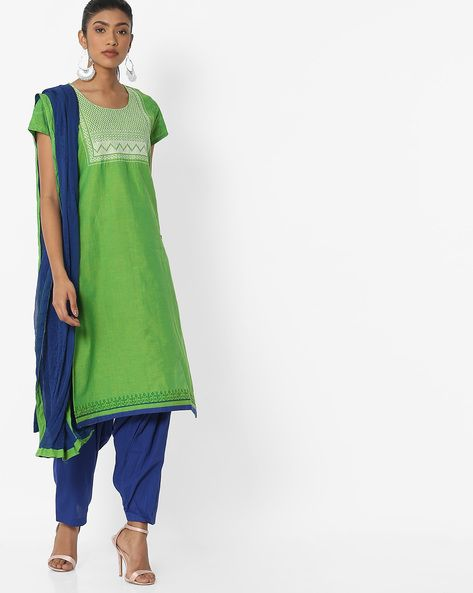 c3fda4c70a AVAASA SET - Printed Kurta with Patiala Pants & Dupatta | dresses ...