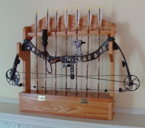 compound bow rack design   Compound Bow Rack Plans   Craft ...