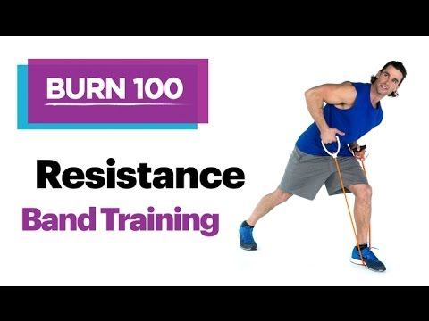 1000 ideas about resistance band training on pinterest