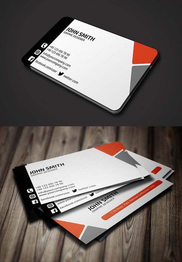 Billig Moderne Business Karten Blau Mit Rede High Definition