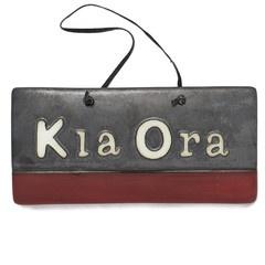Lifestyle Ceramics Kia Ora panel  $46