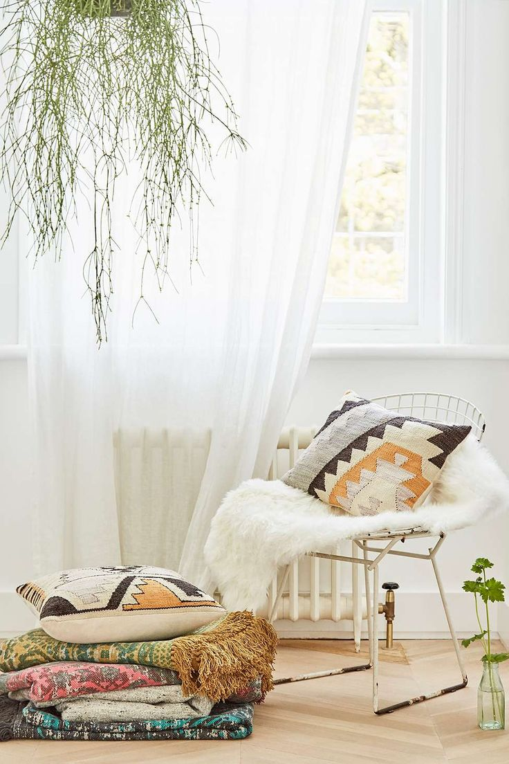 Tepec Woven Kilim Cushion