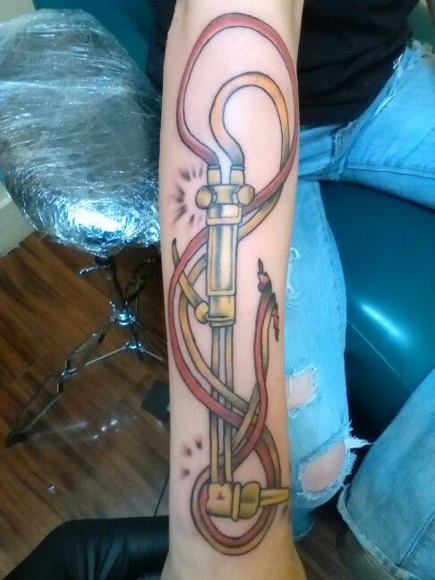 Welder tattoo