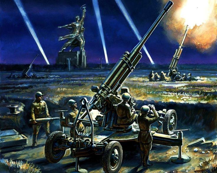 Soviet85mm 52-K AA canon 1941