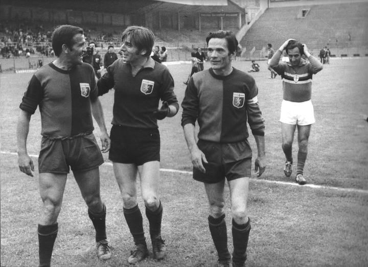 The National Football Players led by Pier Paolo Pasolini