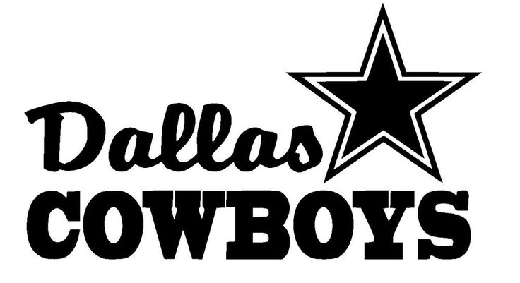 Dallas Cowboys Football Vinyl Car Truck Decal Sticker