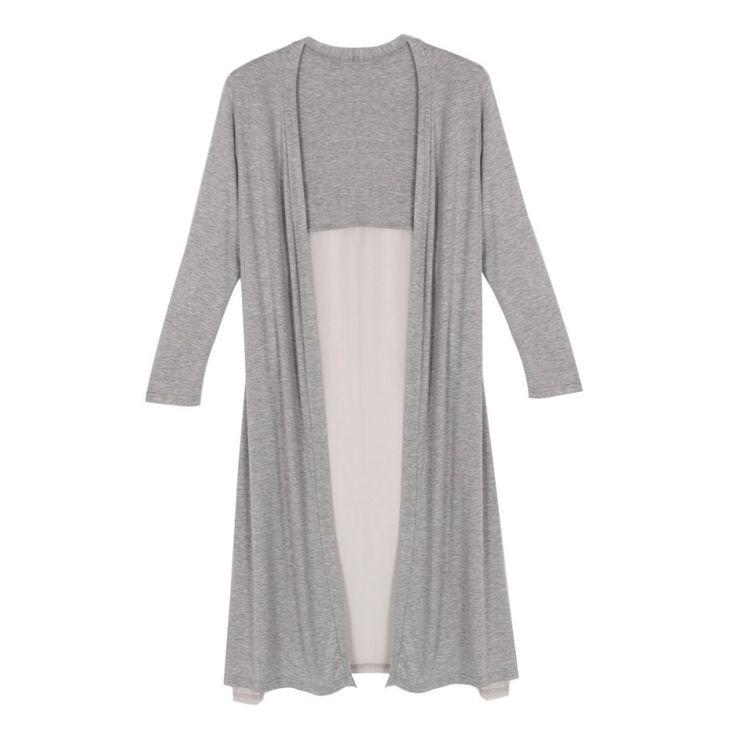 Lady Maxi Cardigan Feminino Sweater Coat Women Knitted Long Sleeve Vintage Oversized Sweaters Hot Selling