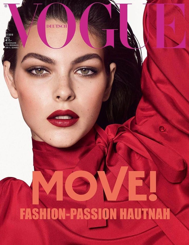 Vogue Deutsch 2018 Fashion Magazine Cover Vogue Germany Vogue