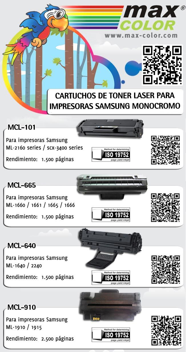 MCL-101 MCL-665 MCL-640 MCL-910