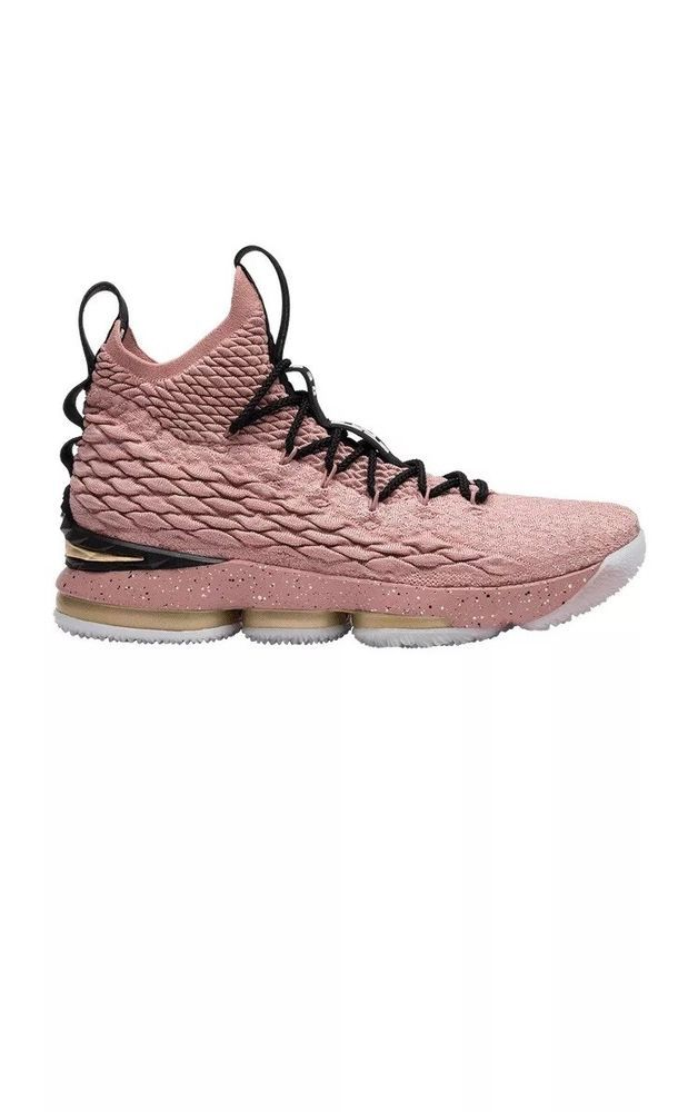81a8c0f9e983a Nike LeBron XV 15 Hollywood All Star Size 12. 897650-600. Rust Pink Gold  Black  fashion  clothing  shoes  accessories  mensshoes  athleticshoes  (ebay link)