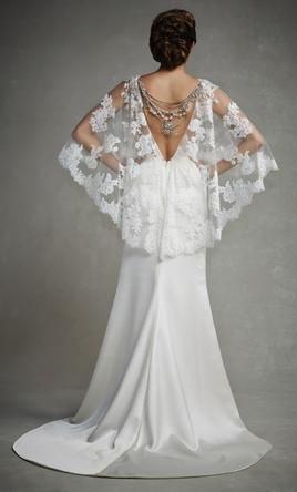 Enzoani Jasmine wedding dress currently for sale at 73% off retail.
