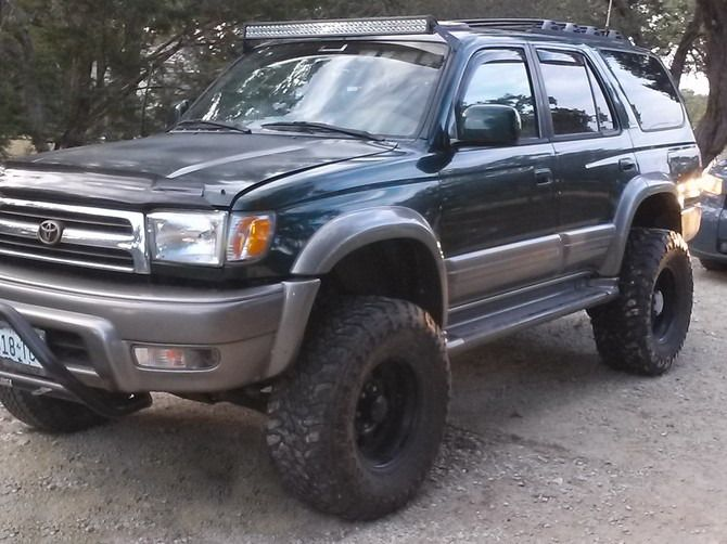 1999 Toyota 4Runner Limited 4wd Toyo Open Country M/T 305/70R16 (544)