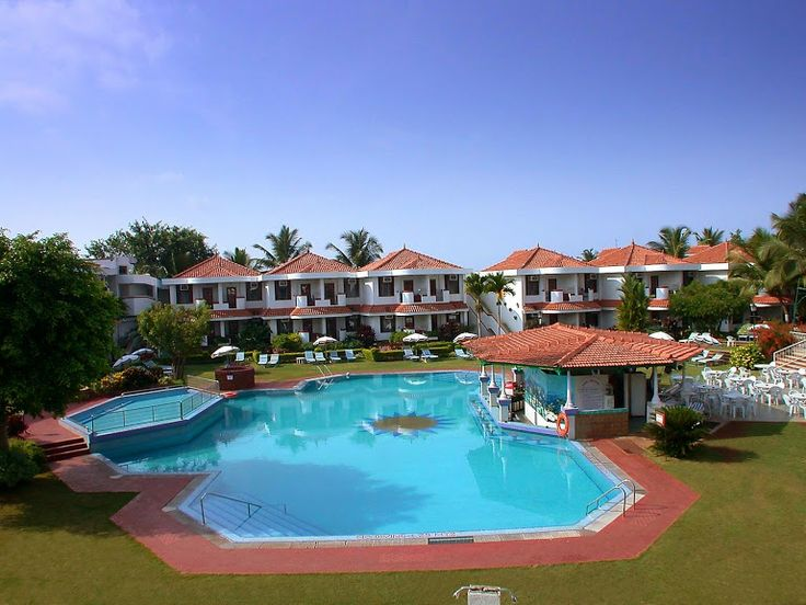 5 Star Heritage Village Club Resort at Arossim Beach in South Goa