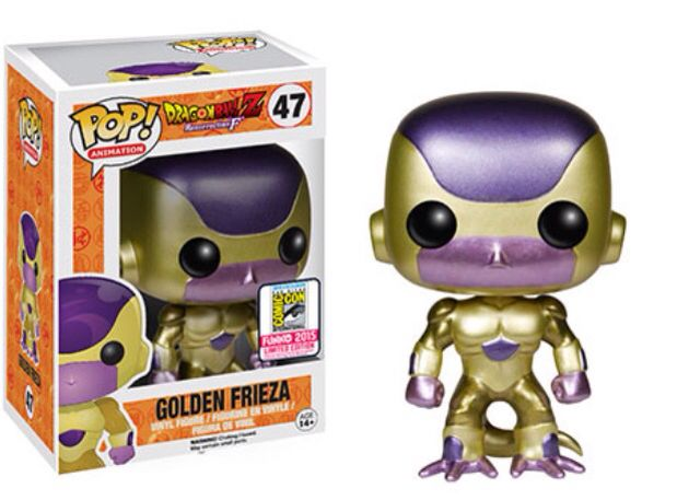 San Diego Comic Con Exclusive Gold Frieza