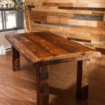 100% salvaged barn wood, 2nd life