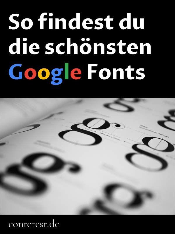 Google Fonts darf jeder kostenlos verwenden - ohne Anmeldung. Nutze über 800 Schriftarten für dein Blog und für Grafiken. Weiter »
