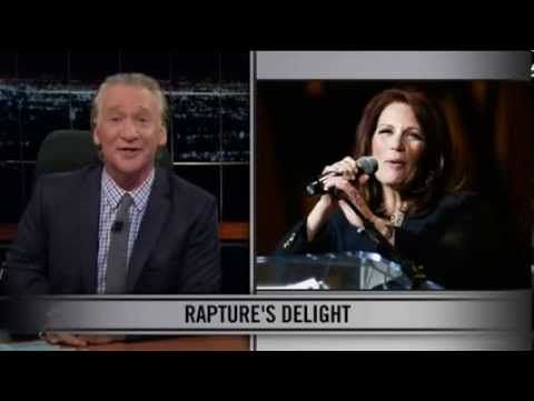 Bill Maher New Rules -  Michele Bachmann and the Devil