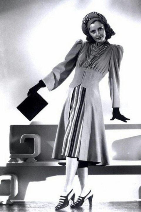 Barbara Stanwyck In The Mad Miss Manton In Wearing Joseff