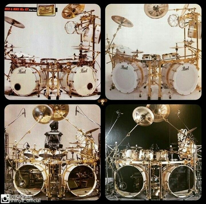 Pearl Drum Kit (i think)