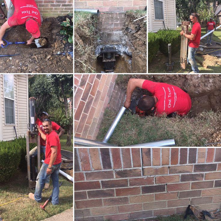 Foundations Foundation repair, Crawl space repair, Repair