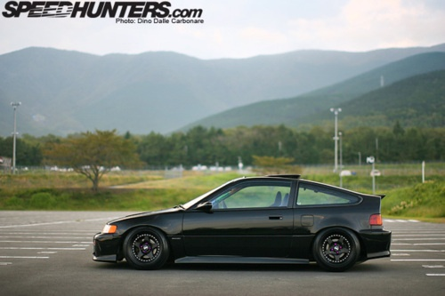 seriously stanced Honda CRX