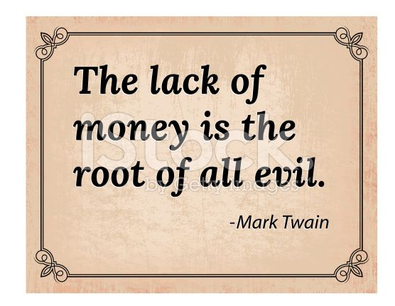 lack of money is the root of all evil essay Sample essay - money is the root of all evil do you agree in this blog, i will demonstrate writing an essay by utilising the techniques i will show you a sample argumentative essay (there are a few patterns of essays you need to know in english 1119 and this section will be discussed on the coming blogs)i have written in form 4.