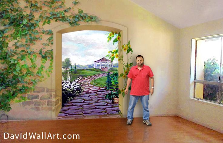 24 best images about wallpainting adults on pinterest for Best paint for a wall mural