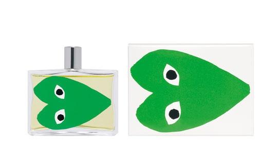 Parfum Play green Comme des Garçons http://www.vogue.fr/mode/shopping/diaporama/cadeaux-de-noel-feu-vert/10977/image/652984#parfum-play-green-commedesgarcons