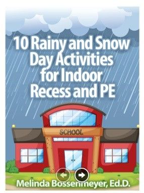 Win 10 Rainy and Snow Days Activities for Indoor Recess.