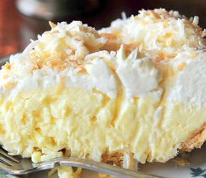 Сливочно-кокосовый пирог