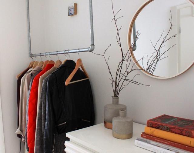 die besten 25 offene garderobe ideen auf pinterest offener schrank kleiderschrank ideen und. Black Bedroom Furniture Sets. Home Design Ideas