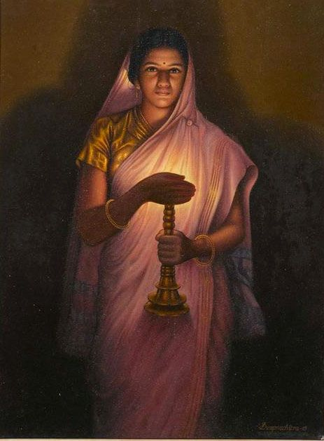 25 Best Oil Paintings by Raja Ravi Varma - 18th Century Indian Traditional Paintings. Follow us www.pinterest.com/webneel