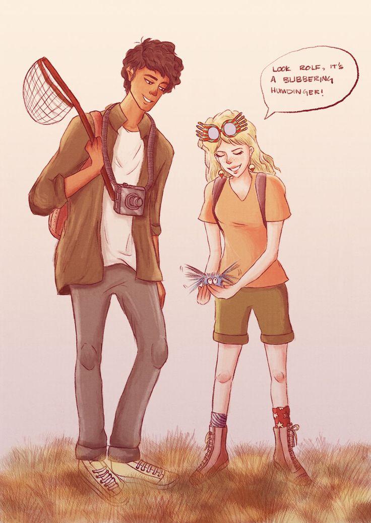 luna and rolf scamander