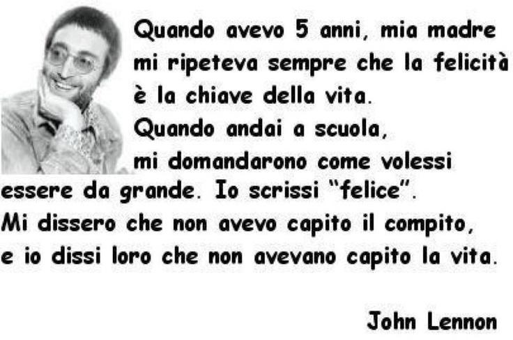 #john #lennon #aphorism #happiness