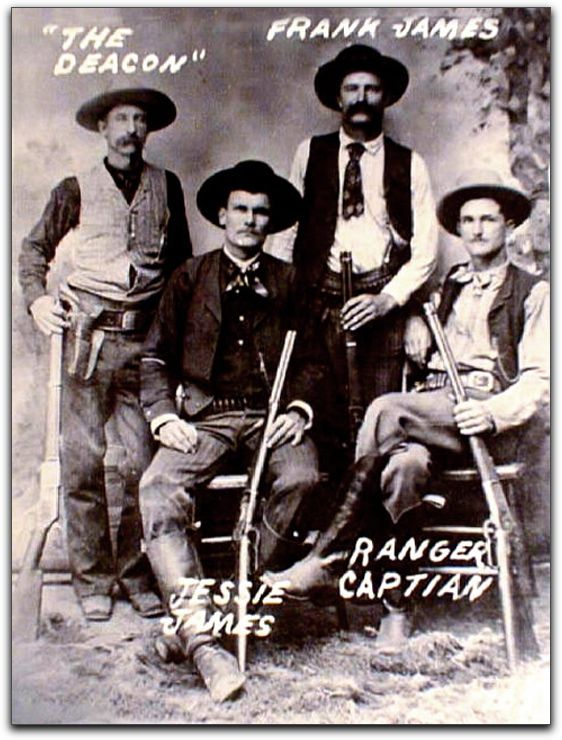 Jesse James Gang. The American way. If you can't get what you want, kill the people that have it.