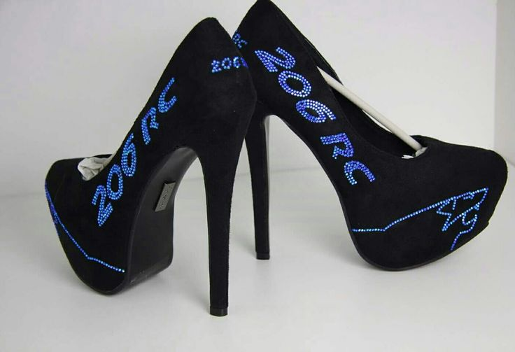 Peugeot High Heels made by crystallized-finishings